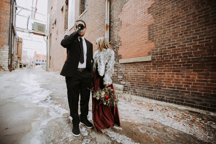 personligt bröllop