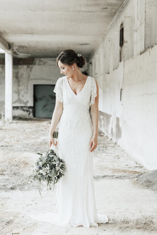 Brudklänning 20-tal