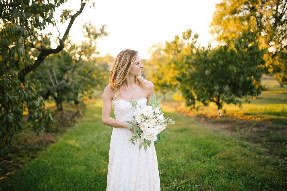 Brudbukett bröllop