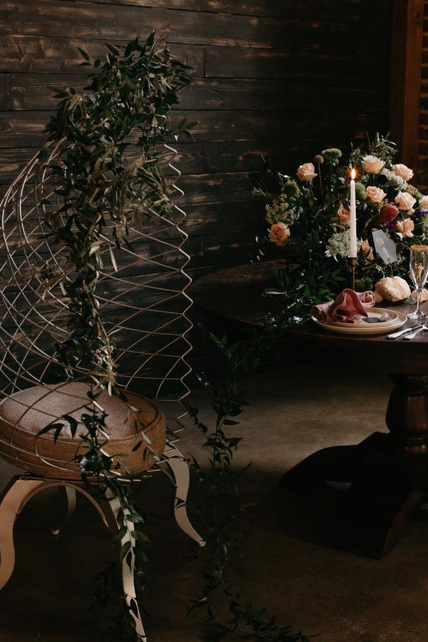 Bröllop dukning