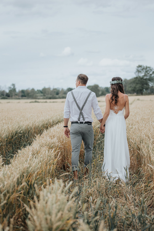 Lantligt bröllop blogg