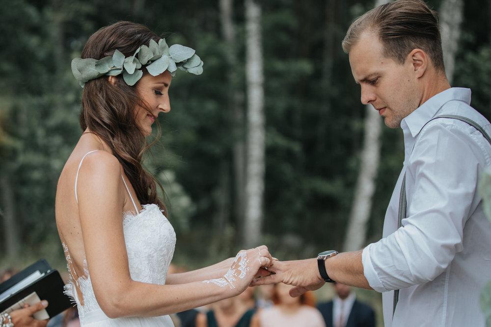 Bröllop ceremoni