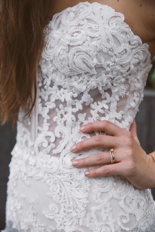 Brudklänning bröllop