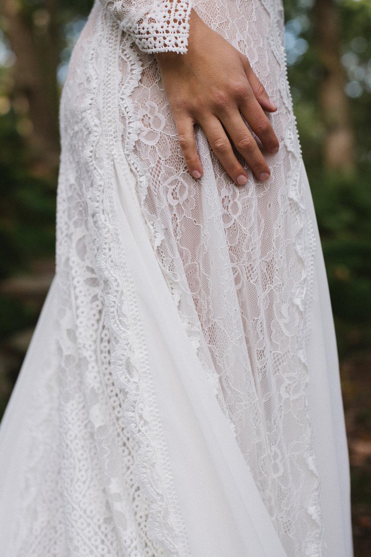 Spetsklänning bröllop