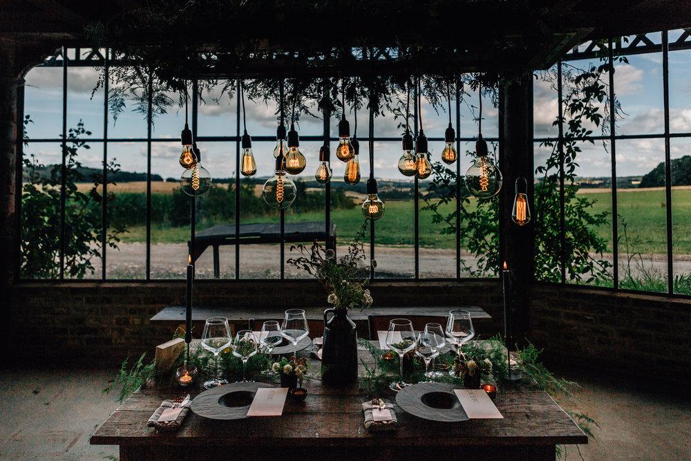Rustik bröllopslokal