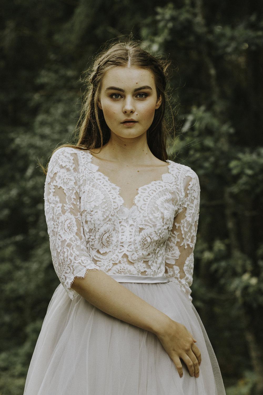 AbbyWaits brudklänning