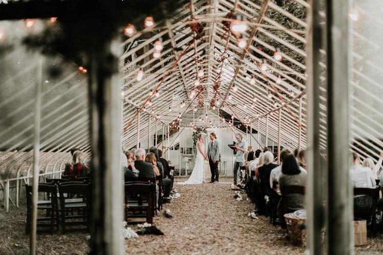 Växthusbröllop