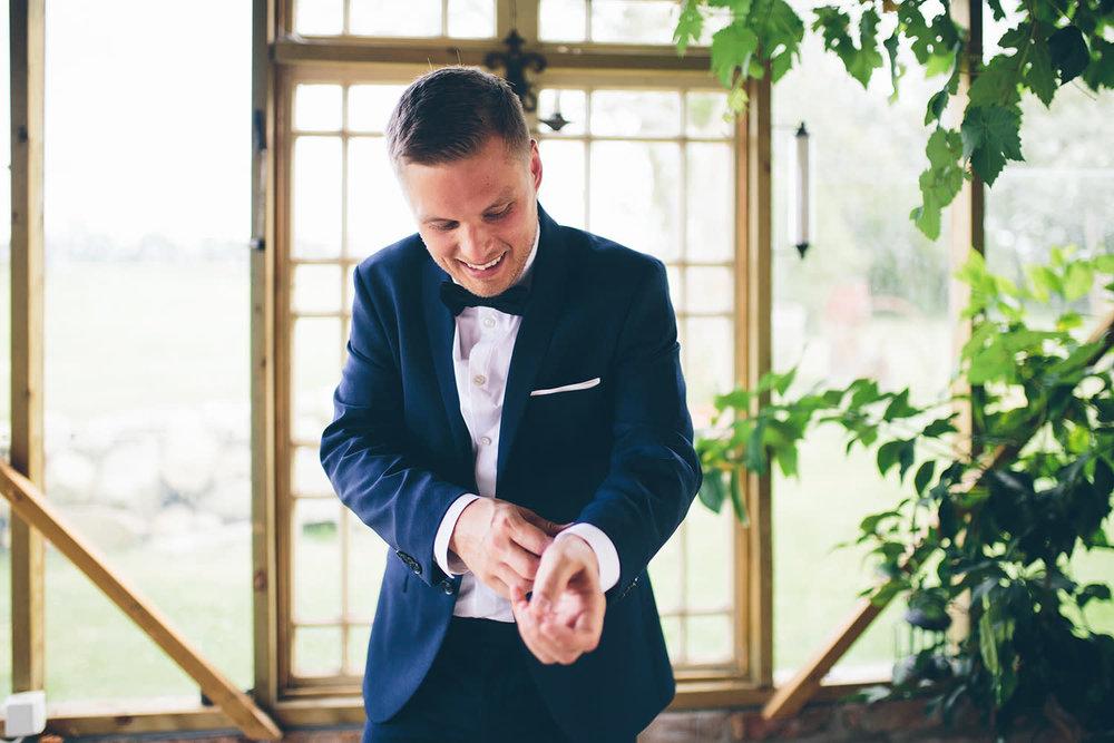 Kostym bröllop