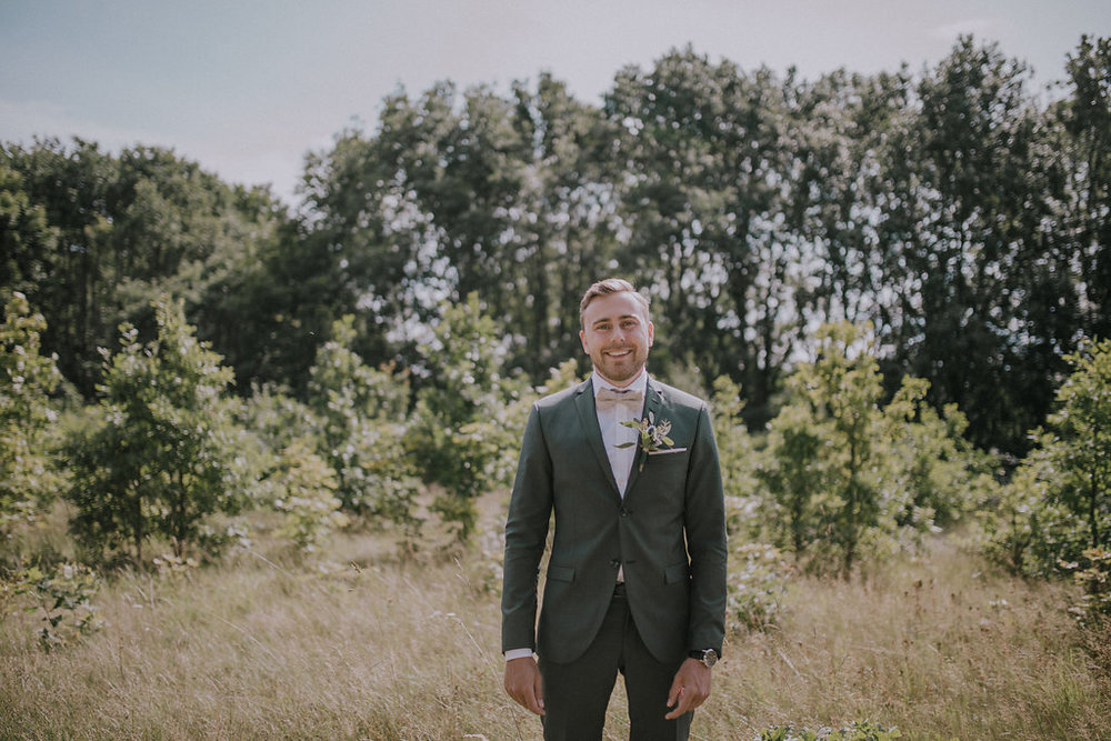 Bröllopsinspiration Kostym