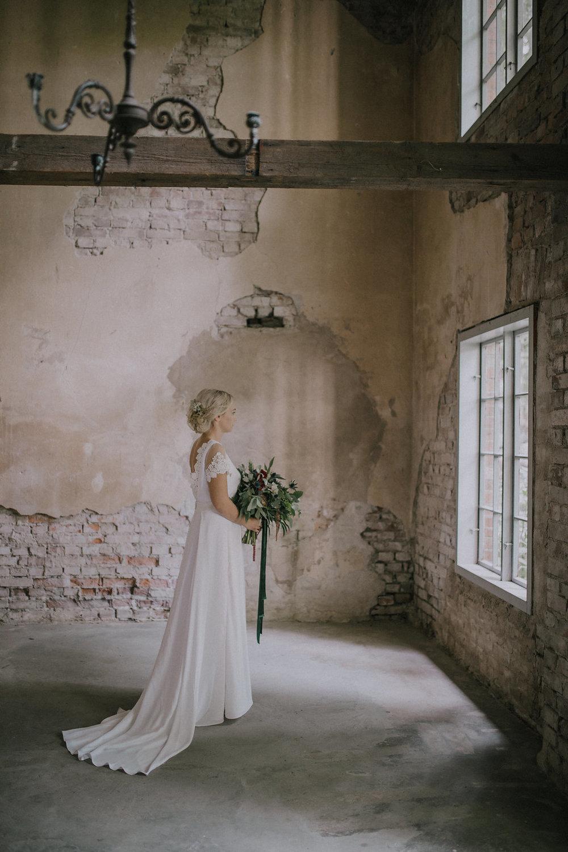 Bröllopsinspiration brudklänning