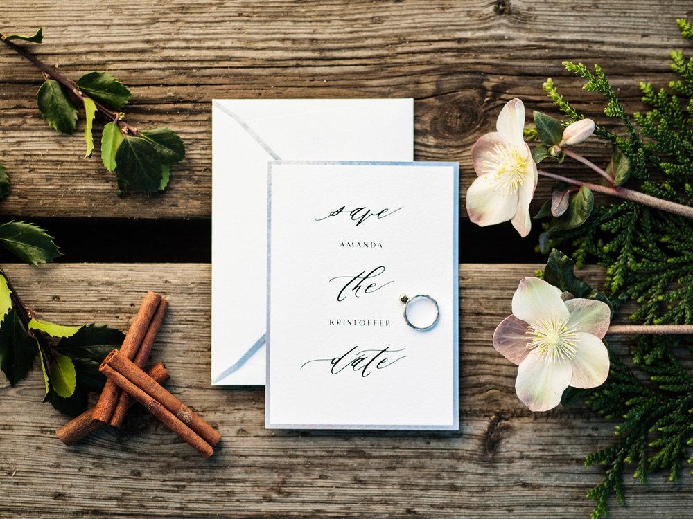 Save the date bröllop