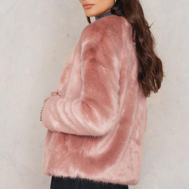 Viola Faux Fur Jacket, NA-KD