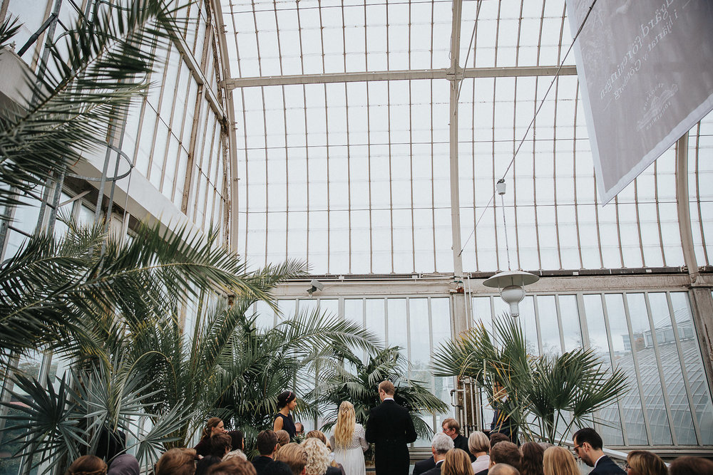 bröllop göteborg palmhuset