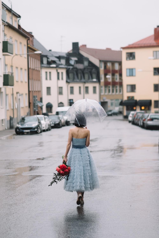 Fotograf: Matilda Audas Björkholm / Brudklänning: Elsa Billgrens vintageuthyrning