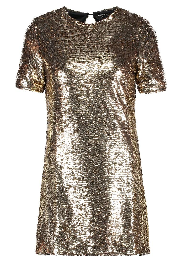 Cocktailklänning guld,  Zalando