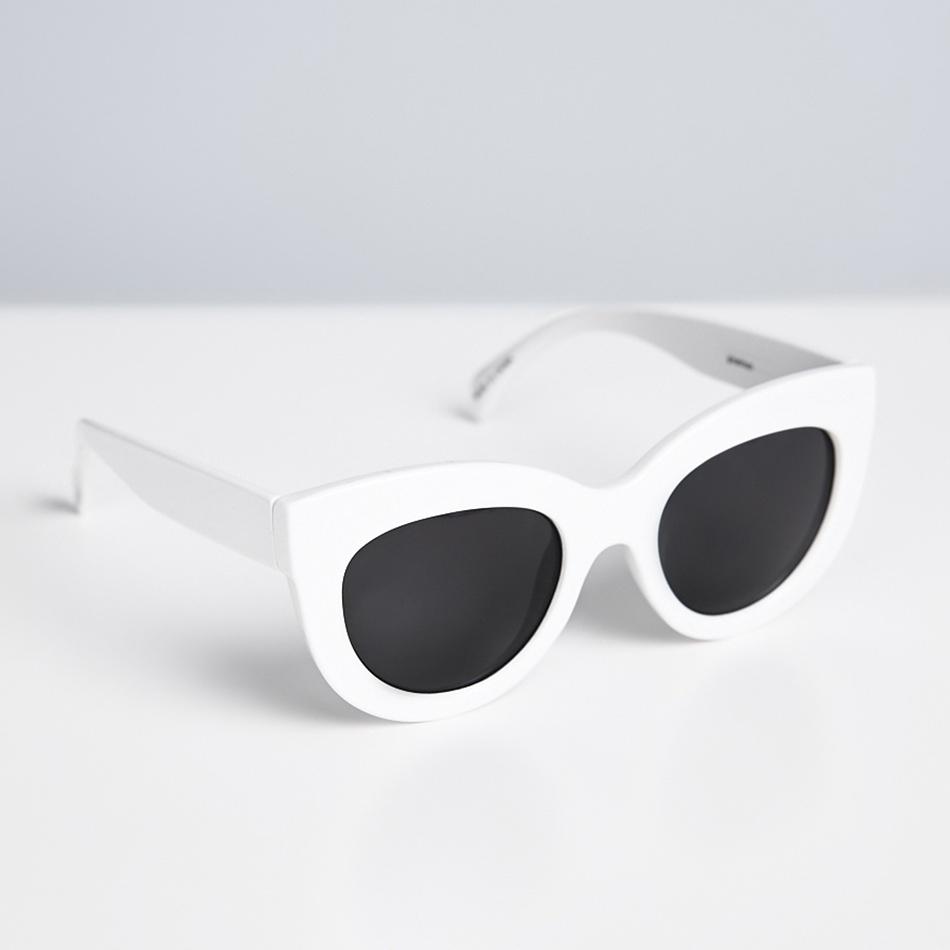 Vita solglasögon , Gina Tricot