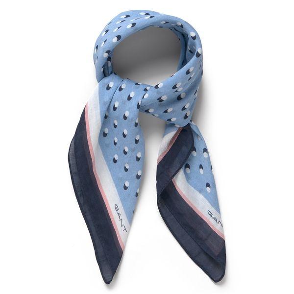 Blå scarf , GANT