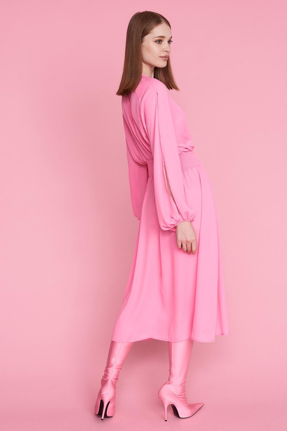 Rosa klänning,  Gina Tricot