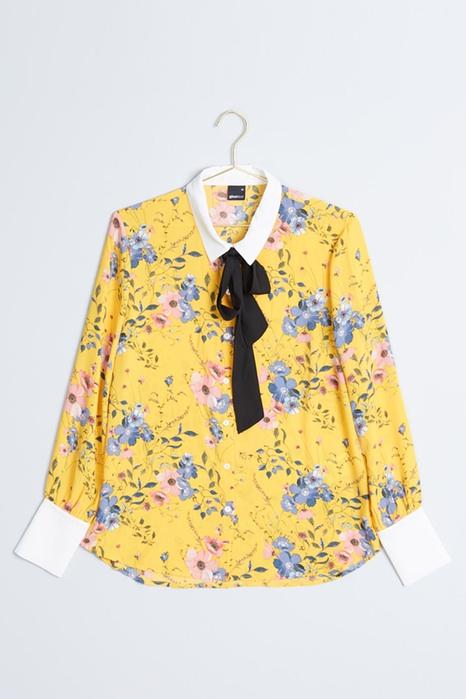 Gul skjorta , Gina Tricot