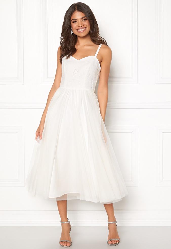 Vit klänning , Bubbleroom