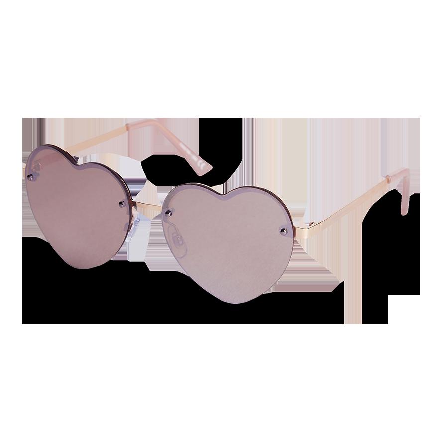 Hjärtformade solglasögon