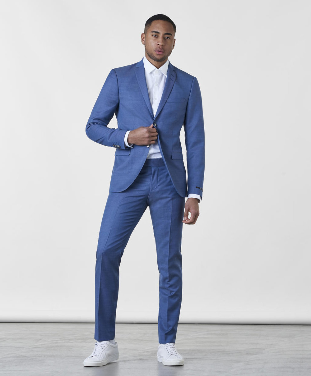 Blå kostym , Stayhard