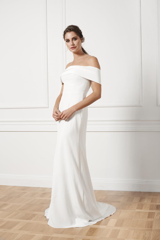 Glamourös brudklänning , By Malina