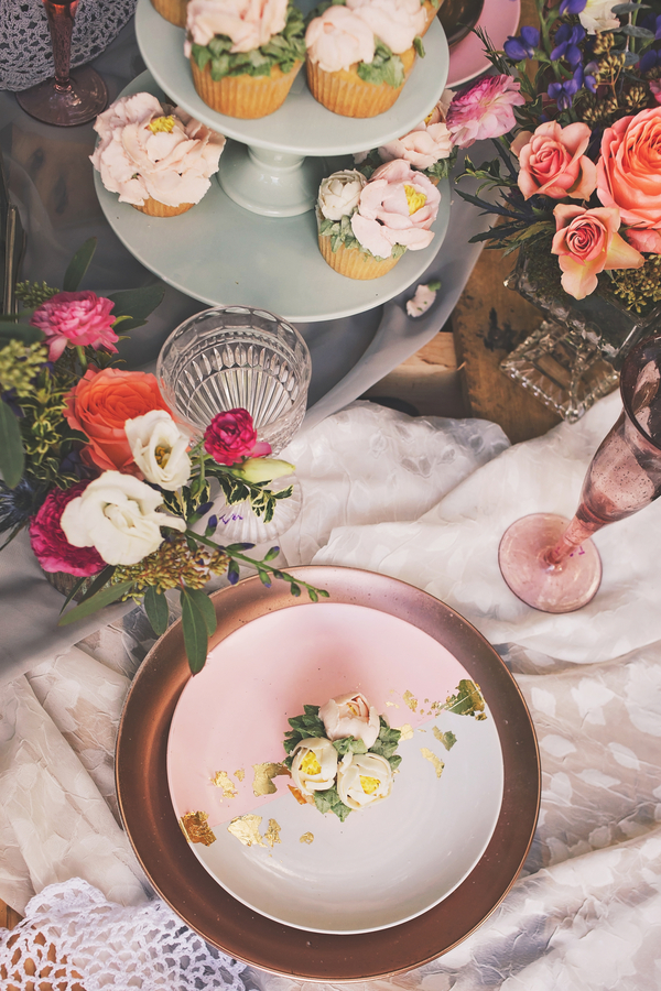 Bröllop+Dukning+Bröllopstårta