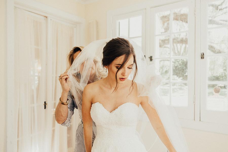 Bröllop+brudklänning+brudslöja