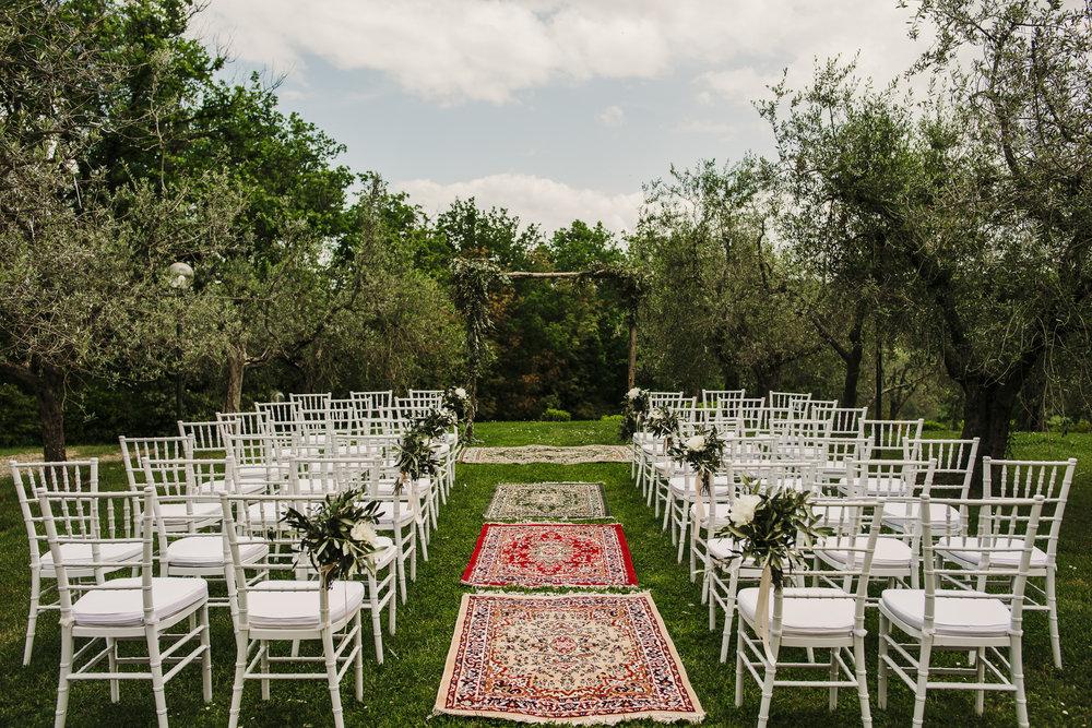 bröllop + vingård + italien