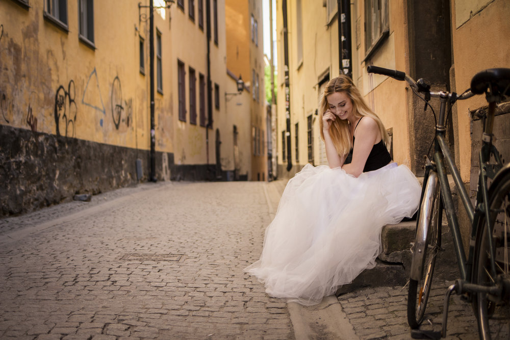 tyllkjol+bröllop