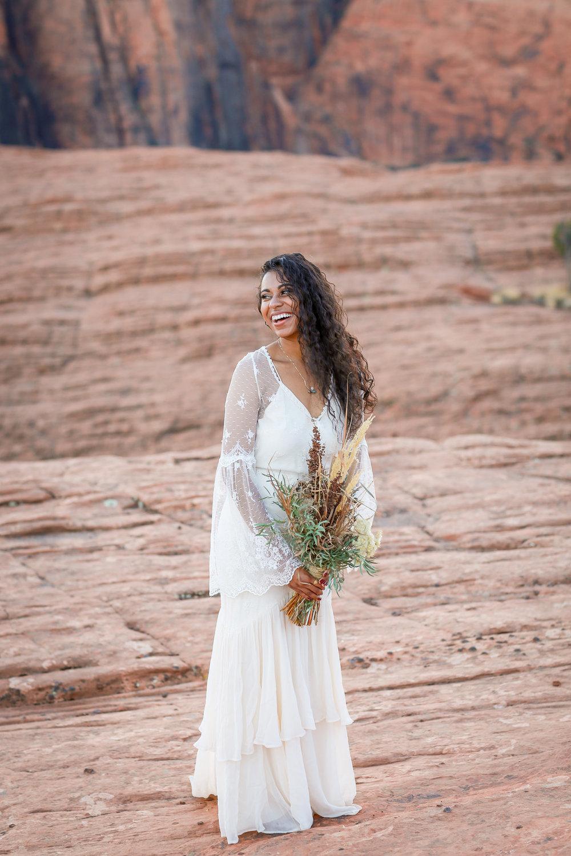 Elopement+boho+bröllop+klänning