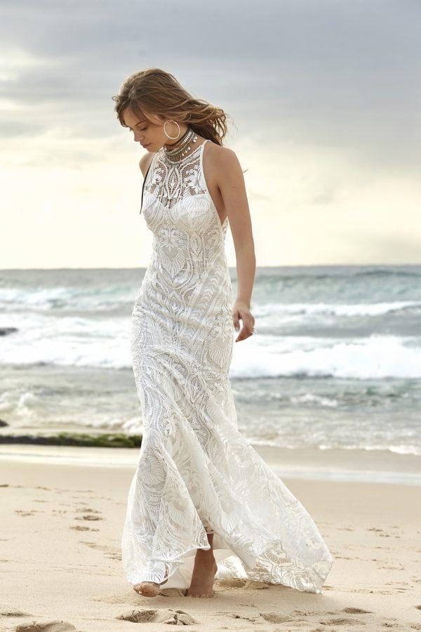 Brudklänning+bohemisk