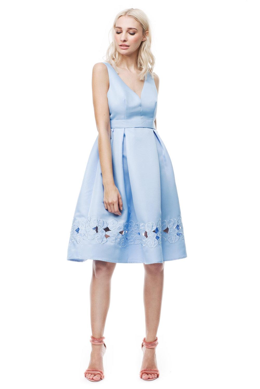Ljusblå klänning , By Malina