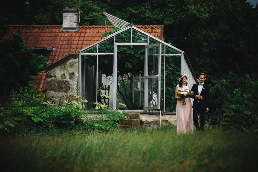Bild från Zannas bröllop. Fotograf:  Annelie Johnsson