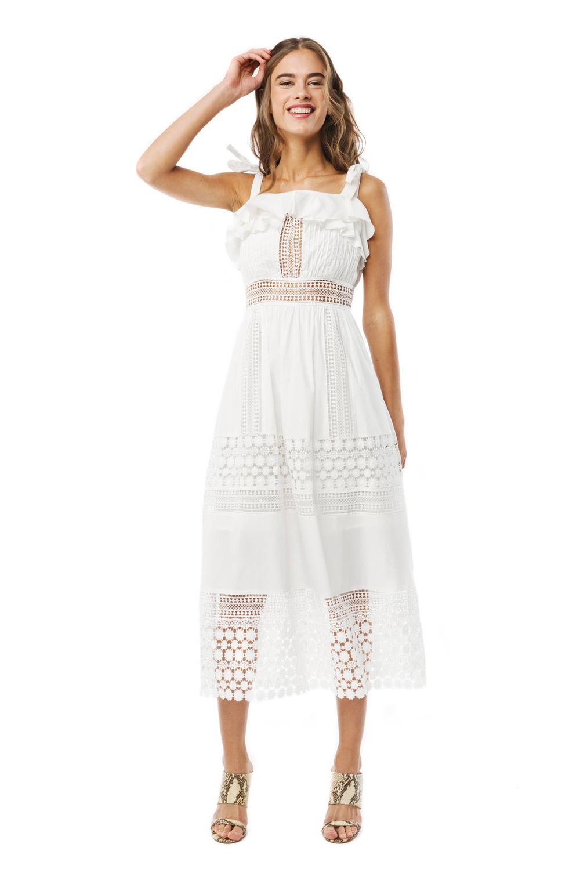 Vit klänning , By Malina