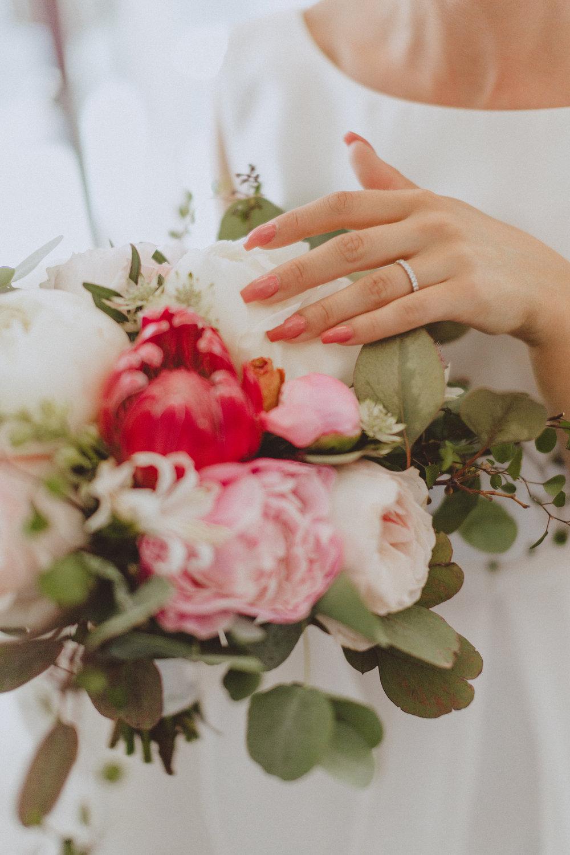 brudbukett+vigselring+bröllop