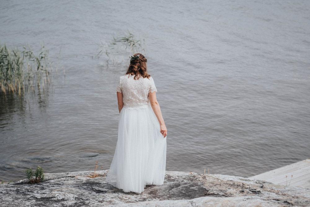 brudklänning+tyll