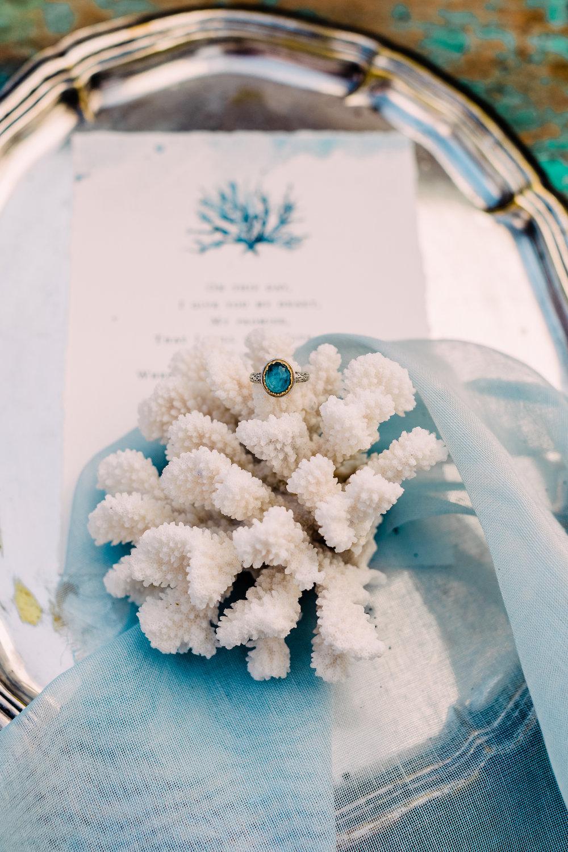 korall bröllop