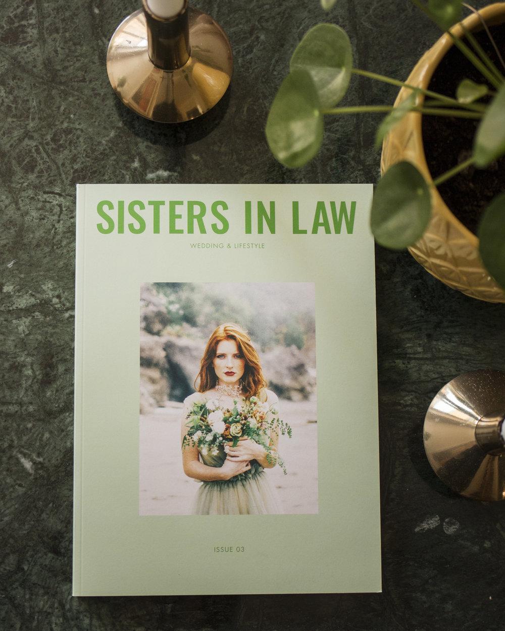 sisters in law bröllopsmagazine