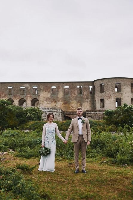 Rustik bröllops-fotograferingFrån Öland -