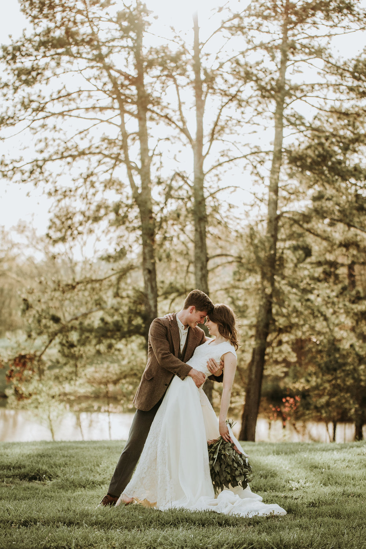Botanisk bröllopsinspiration i vintagestil -