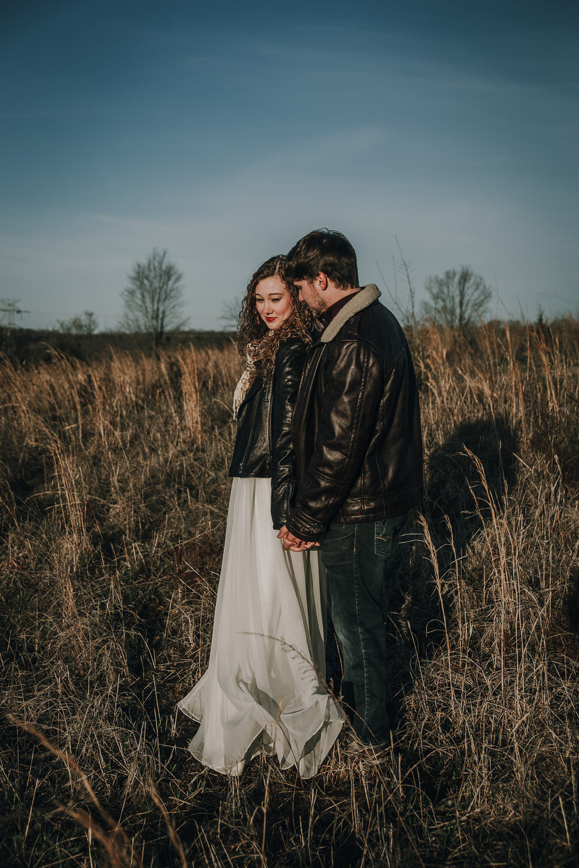 bröllop+porträtt+vinter