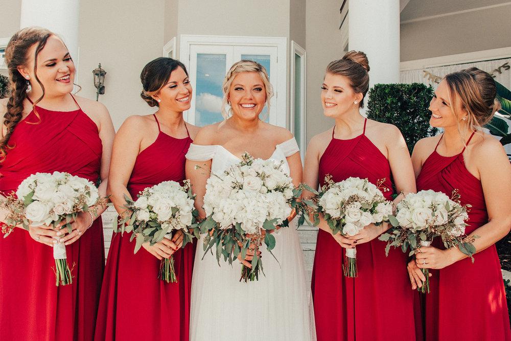 bröllop+brudtärna+blombukett