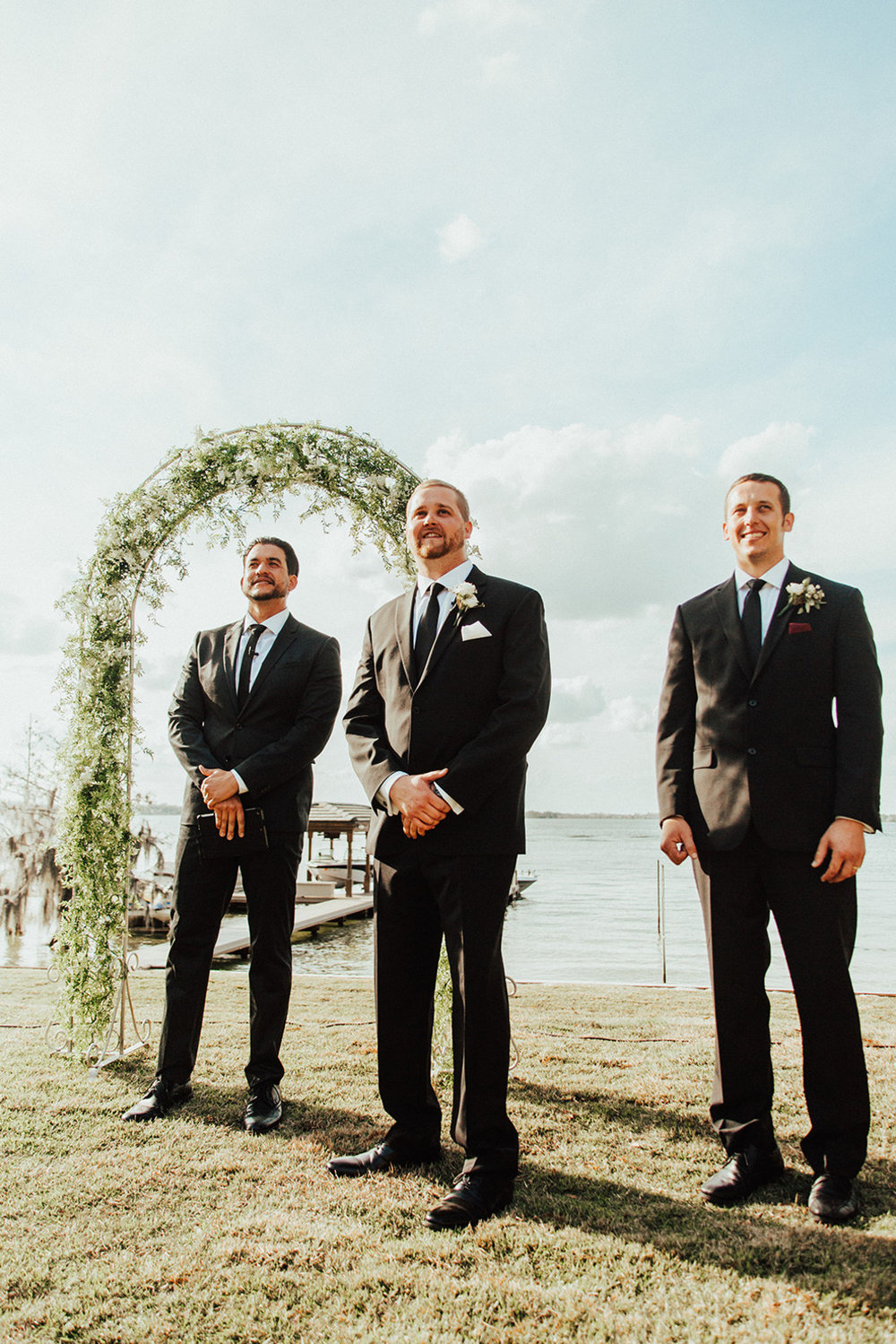 bröllop+vigsel+båt+brudgum