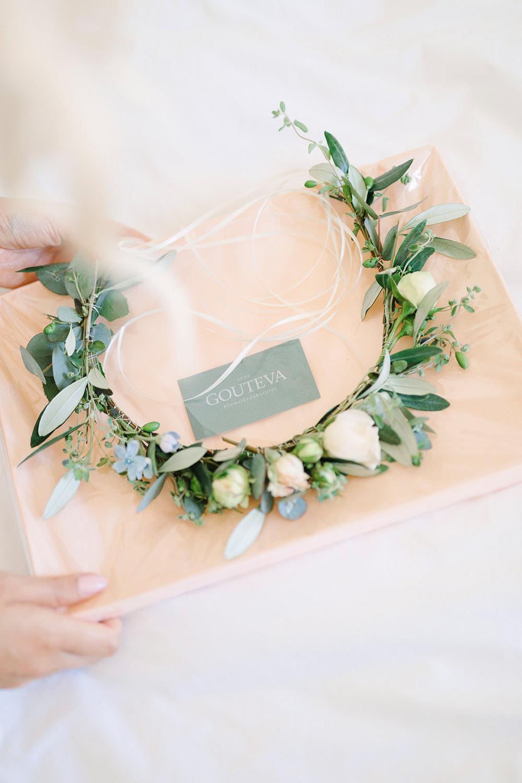 blomsterkrans+bröllop