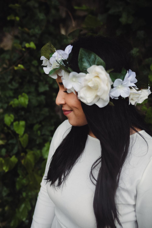 bröllop+boho+elopement+blomsterkrans