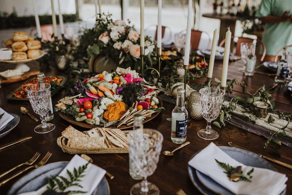 bröllop+boho+dukning