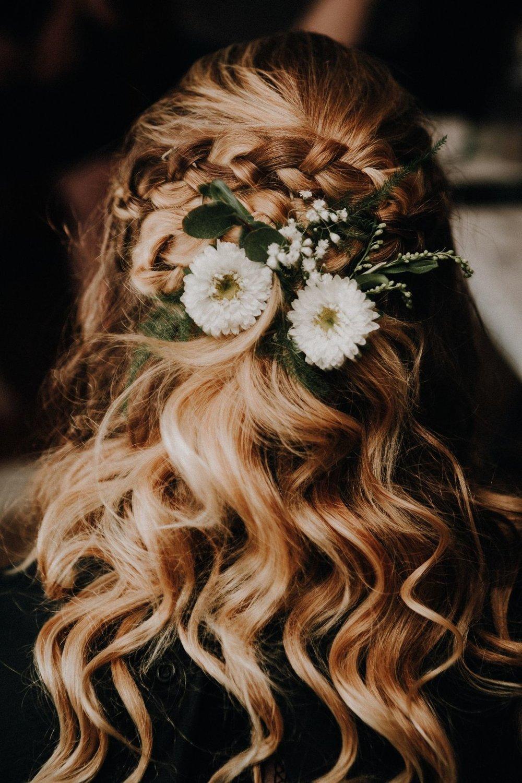 bröllop+rustikt+hår+frisyr