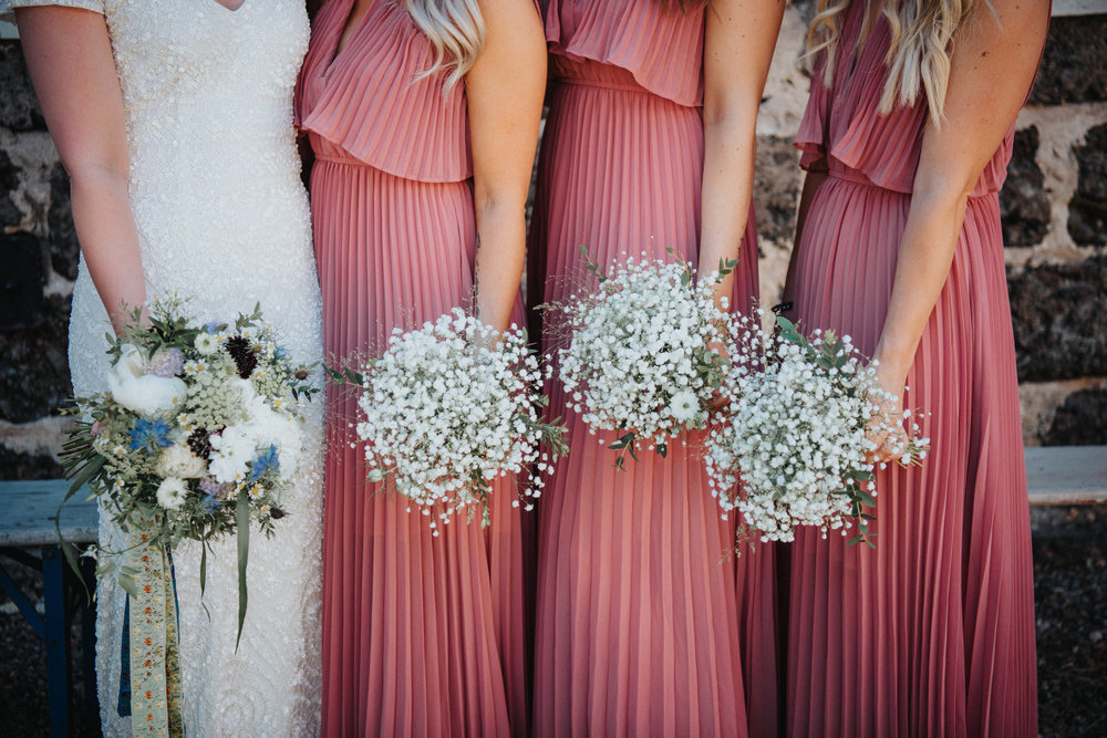 Bröllopsblogg Sisters in Law brudtärnor